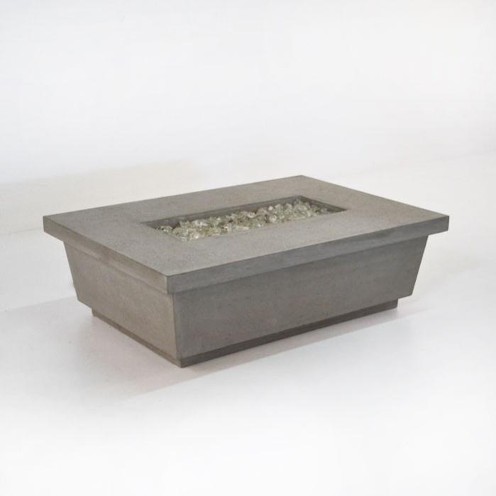 Contempo Rectangular Concrete Fire Pit-0