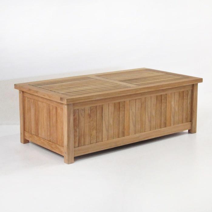 Teak Cushion Box-0