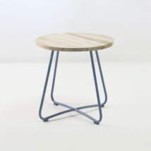 East Driftwood Side Table (Blue Jeans)-0