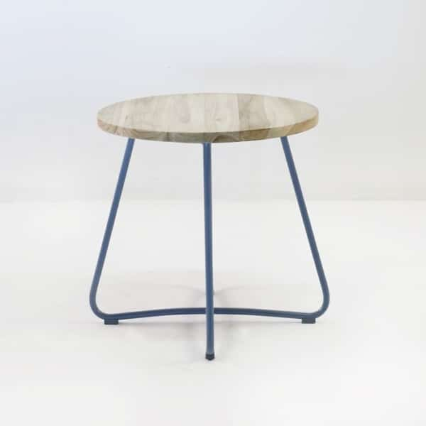 east side table blue straight view