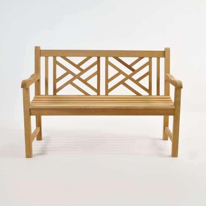 Elizabeth Teak Garden Bench (2 Seat) | Teak Warehouse