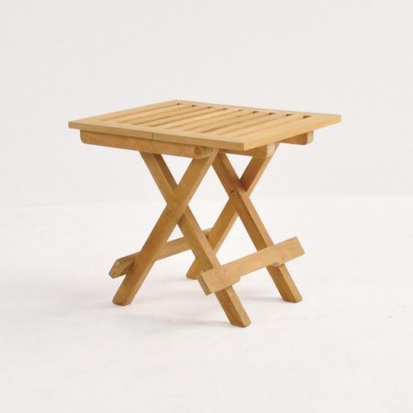Picnic Small Teak Folding Table-0