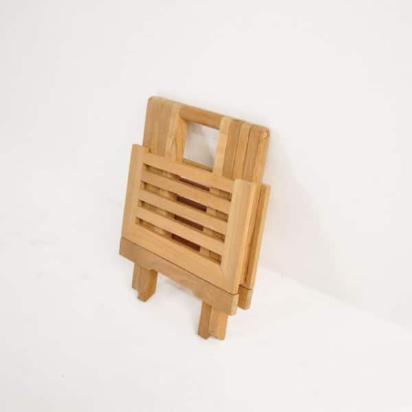 picnic small teak folding table