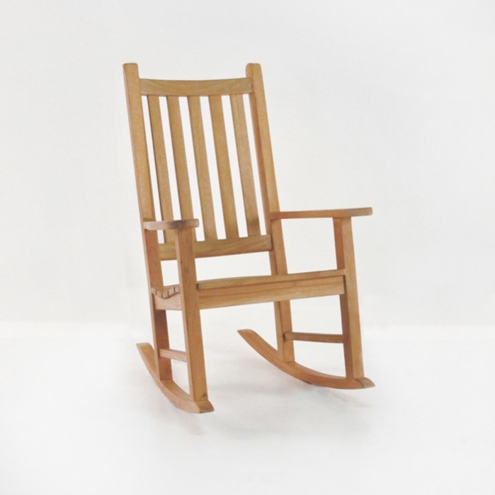 Granny teak rocking chair relaxing outdoor lounges