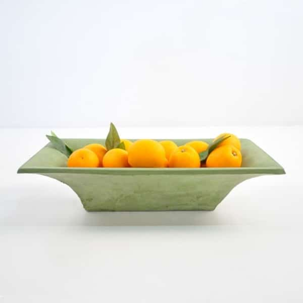 blok st tropez trough green with oranges
