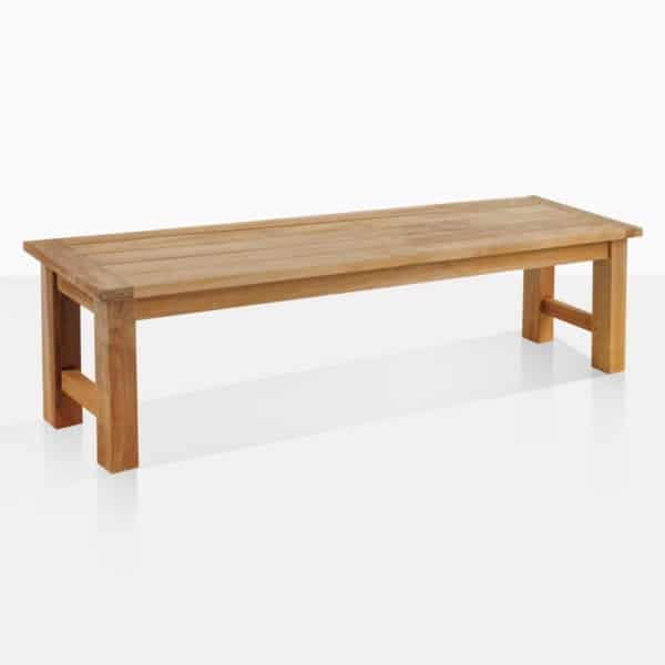 Hampton Teak Backless Dining Bench