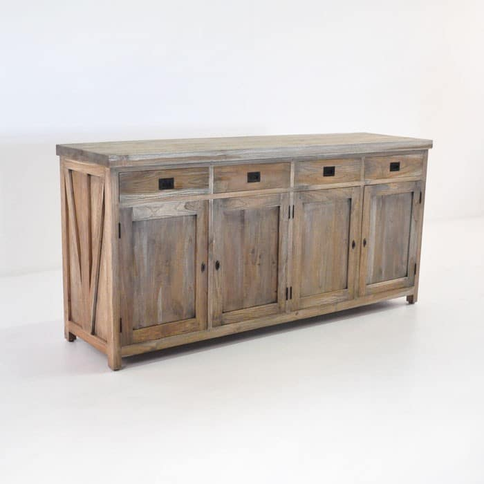 Artisan Teak Outdoor Console Table Teak Warehouse - Teak outdoor buffet table