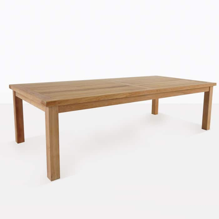 Hampton Teak Outdoor Dining Tables 0 ...