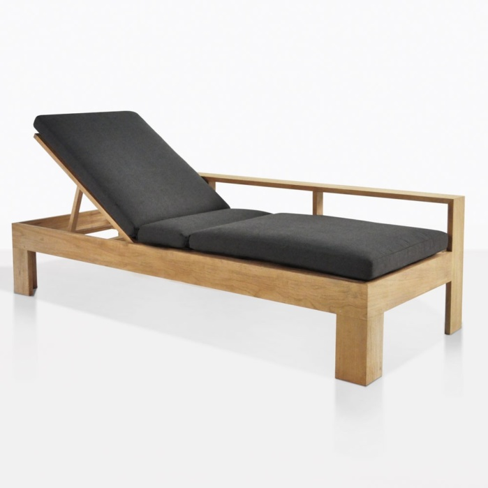 Havana Teak Sun Lounger And Bench