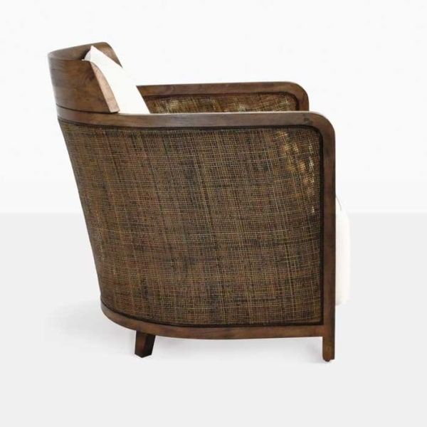 indoor wicker lounge chair