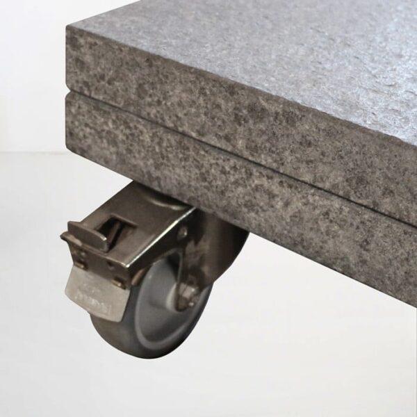 kingston cantilever umbrella base granite