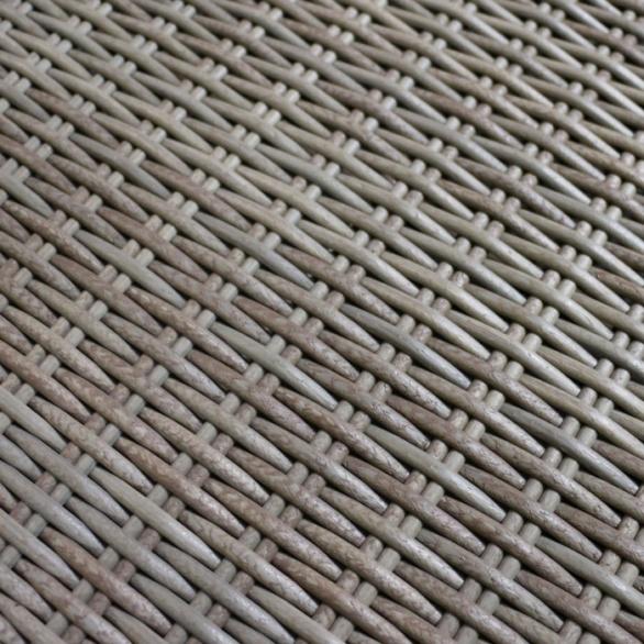 rocco outdoor wicker side table kubu closeup