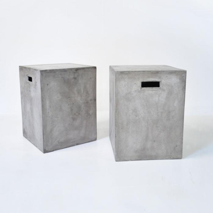Blok Square Concrete Letter Box-0