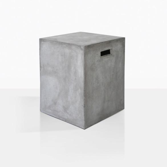 Concrete Letter Box Side Table