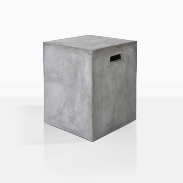 Concrete Letter Box Side Table