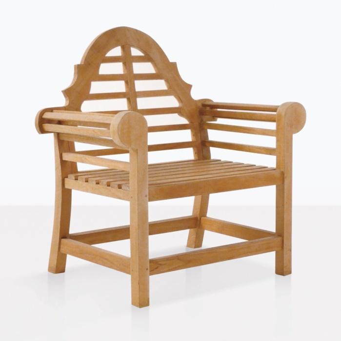 Lutyens A-Grade Teak Garden Chair
