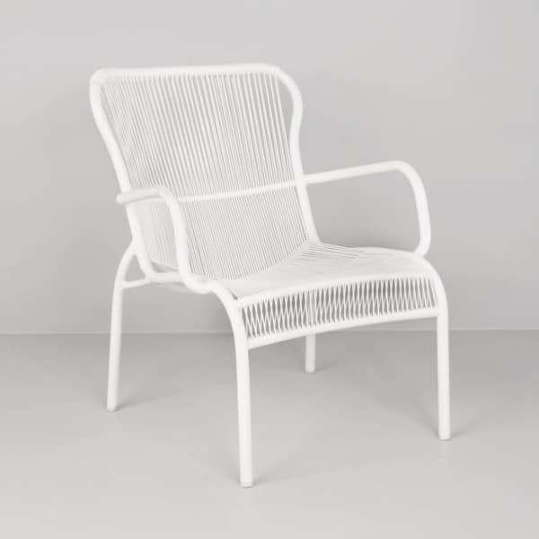 Luxe Outdoor Relaxing Chair (White)-0