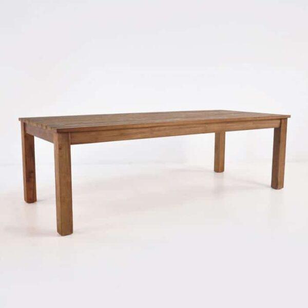 manhattan reclaimed teak dining table