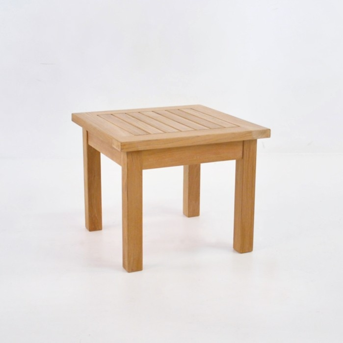 Milano Teak Side Table 0