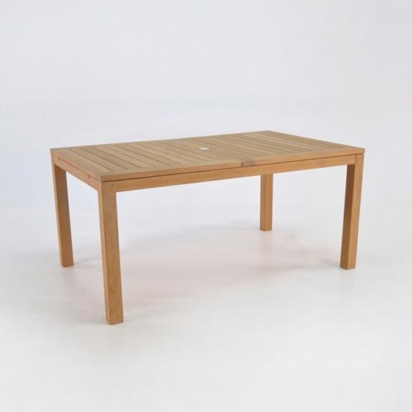 monaco teak extension dining table