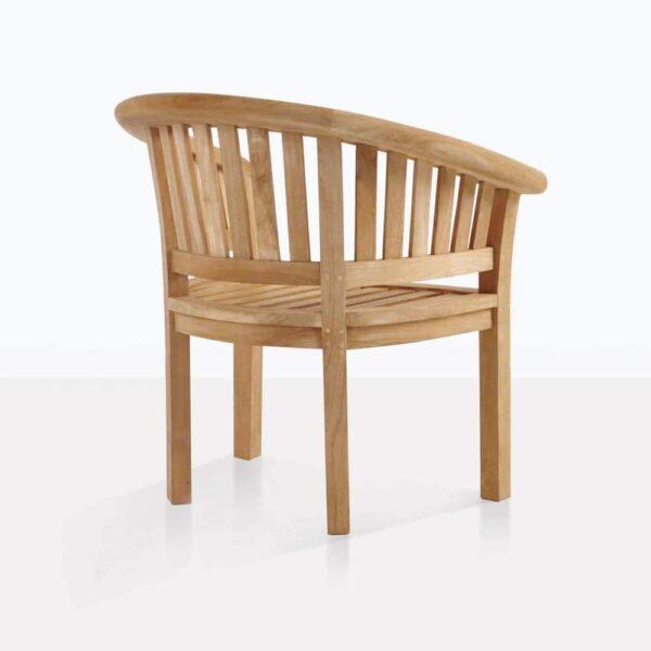 Monet Teak Tub Chair Back
