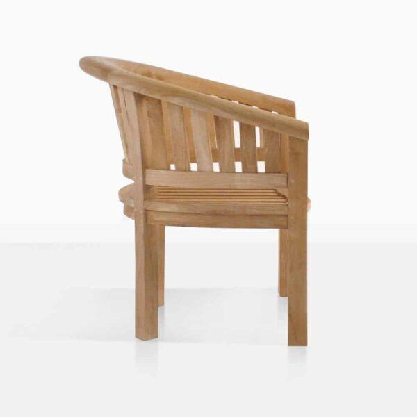 Monet Teak Garden Chair Side