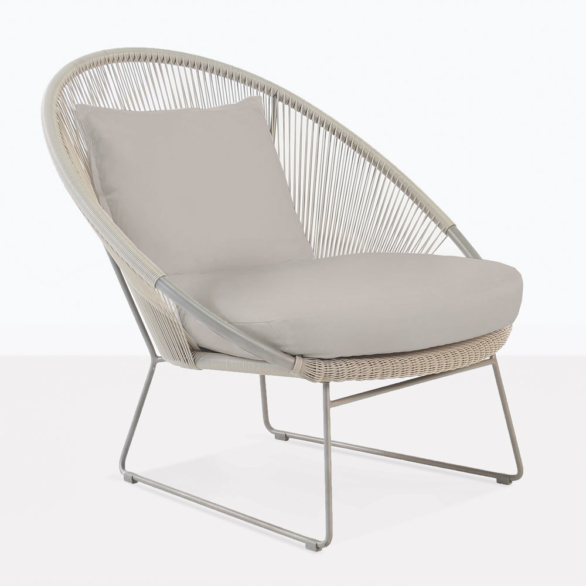 Natalie Taupe Relaxing Chair