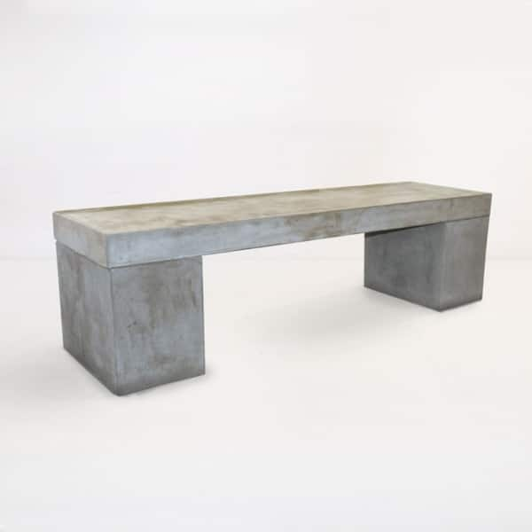 Blok Outdoor Concrete Bench-0