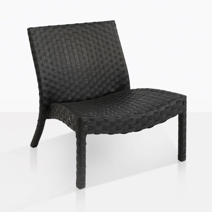 Noir Black Wicker Relaxing Chair