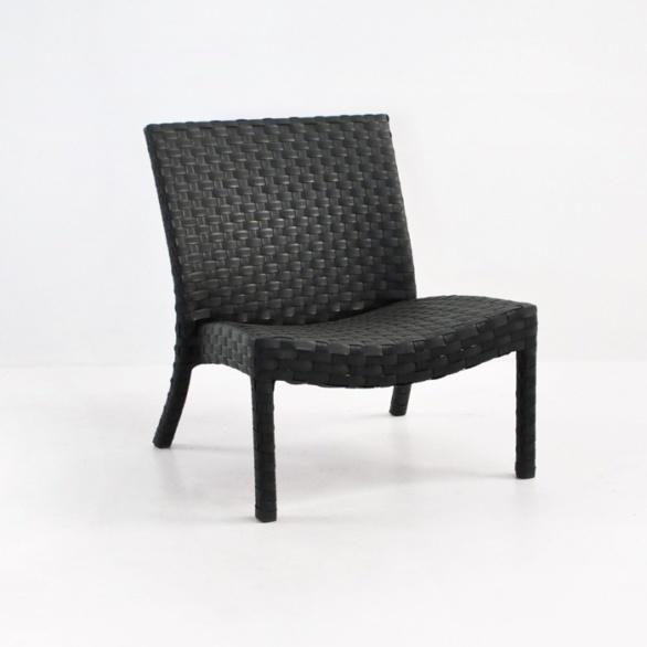 Noir Outdoor Wicker Relaxing Chair-0