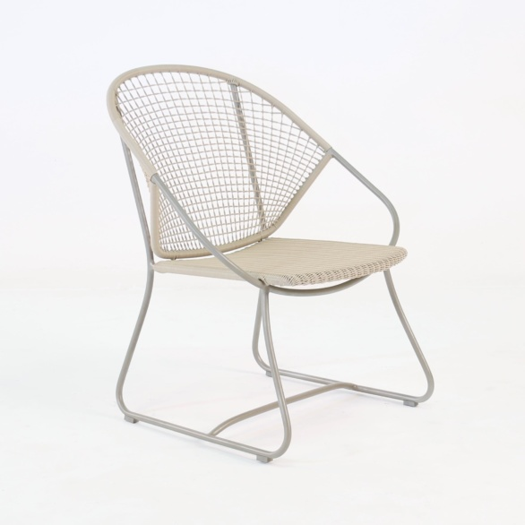 Omega Outdoor Wicker Relaxing Arm Chair-0