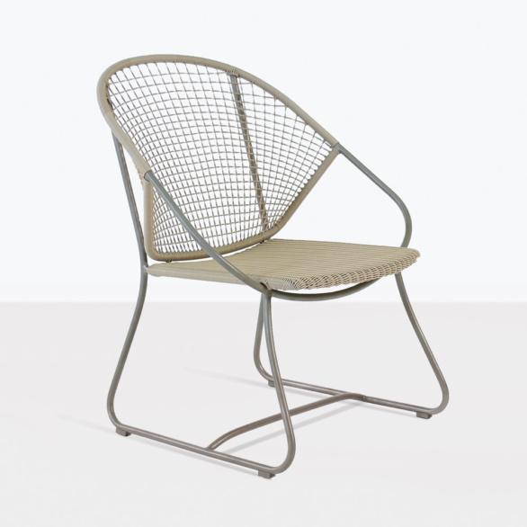 Omega Modern Wicker Dining Chair