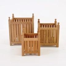 A-Grade Teak Planter Box-0