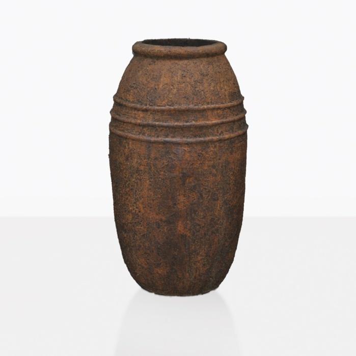 Ranto Tall Concrete Rustic Pot