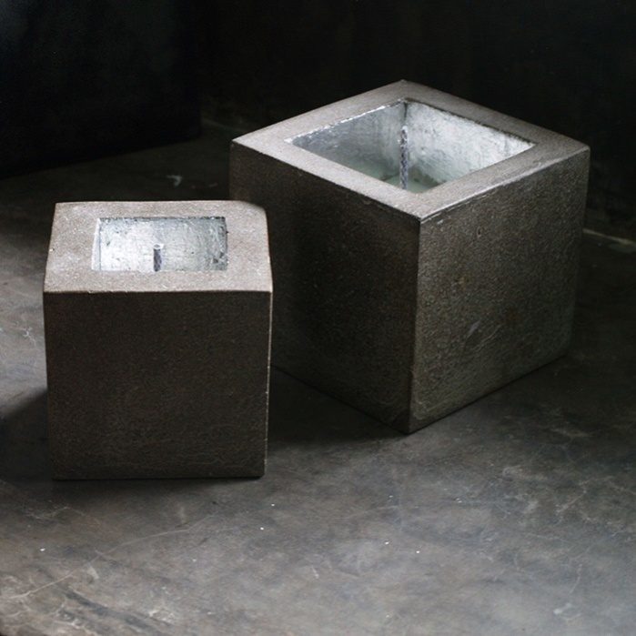 Raw Cube Candle-0