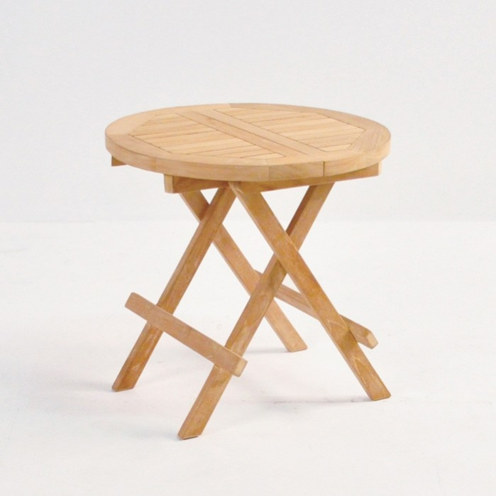 Teak Picnic Table (Round)-0