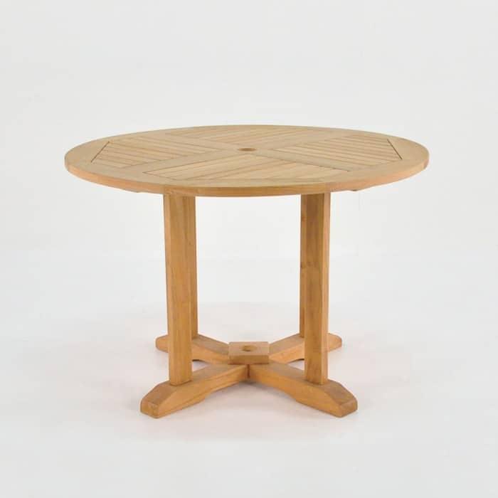 Round Teak Pedestal Table Dining Tables Teak Warehouse : round ped table from teakwarehouse.com size 700 x 700 jpeg 43kB