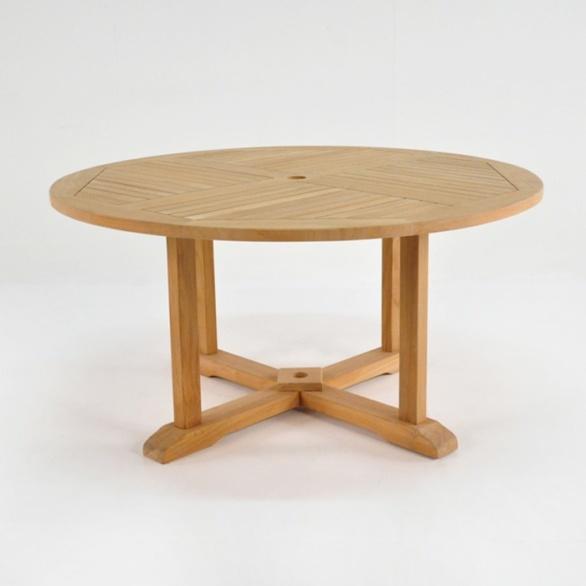 Round Teak Pedestal Dining Tables 0 ...