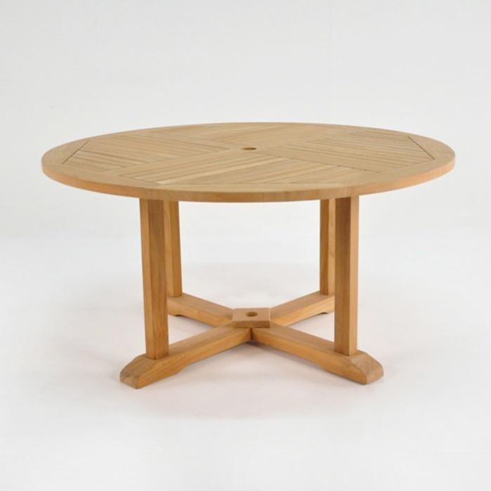 Round Teak Pedestal Table Dining Tables Teak Warehouse : roundped581 699x699 from teakwarehouse.com size 699 x 699 jpeg 44kB