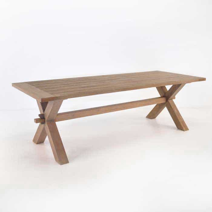 outdoor dining tables for patios or cafes  teak warehouse, Dining tables