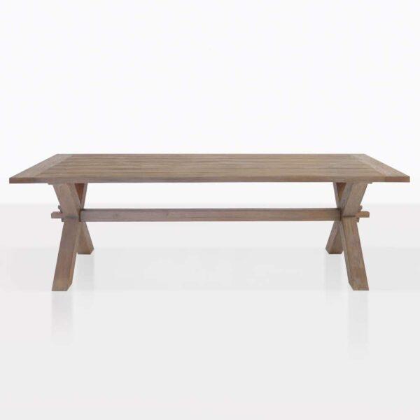Rustic Reclaimed Teak Dining Table