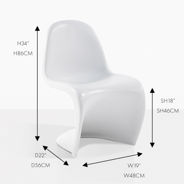 s chair side dining chair