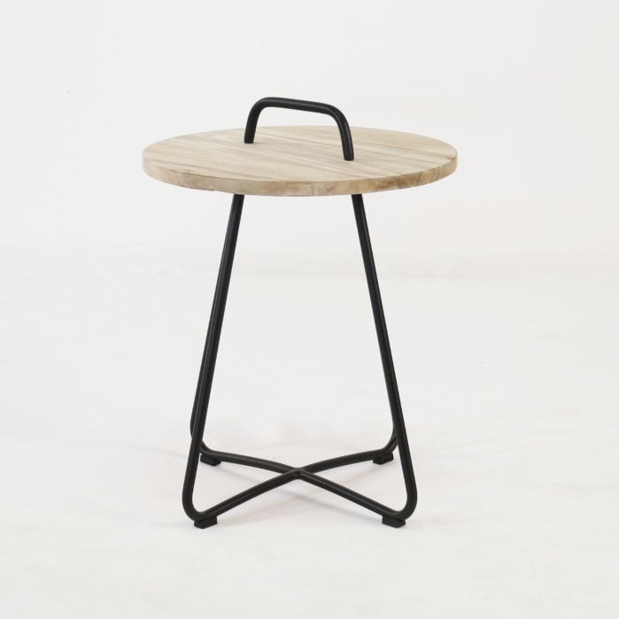 Samba Side Table Drift (Black)-0