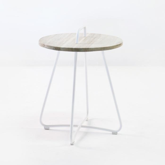 Samba Side Table Drift (White)-0