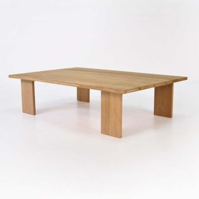 Soho Teak Outdoor Coffee Table Rectangle 0 Modern - Inspirational outside coffee table Awesome