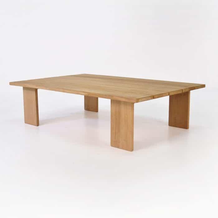 Soho Teak Outdoor Coffee Table (Rectangle) | Patio Accent ...