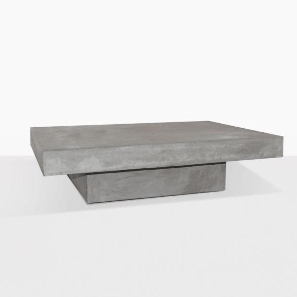 Blok Concrete Square Coffee Table
