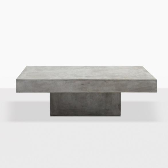 Blok Concrete Square Outdoor Coffee Table