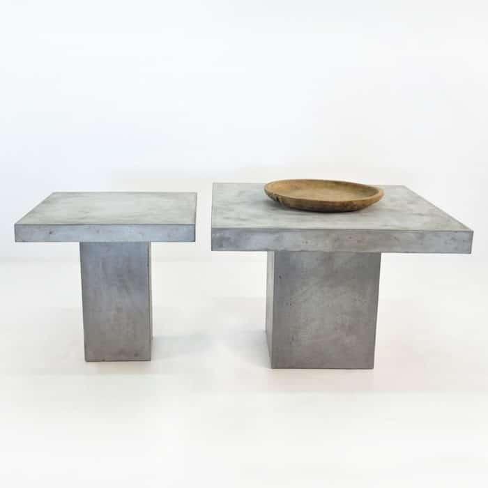 BLOK Square Concrete Dining Tables