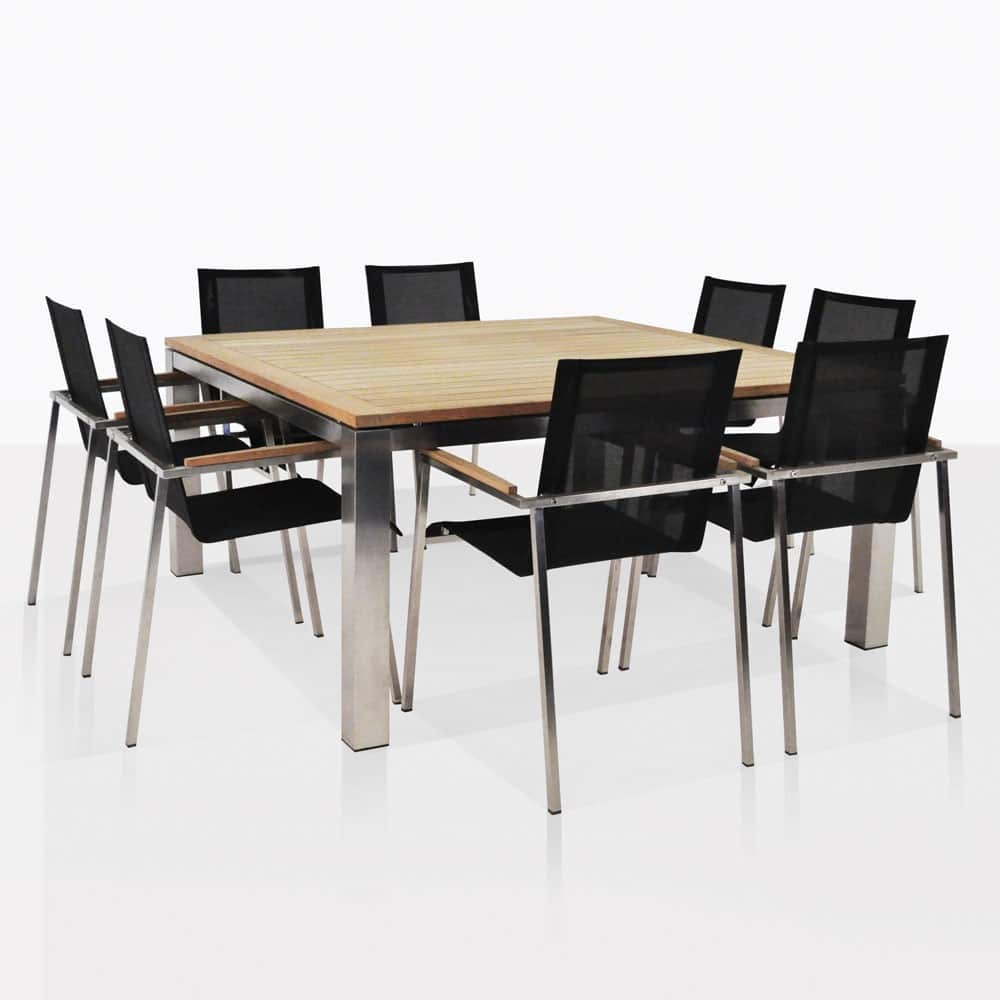 Outdoor Dining Sets for your Patio or Cafe | Teak Warehouse